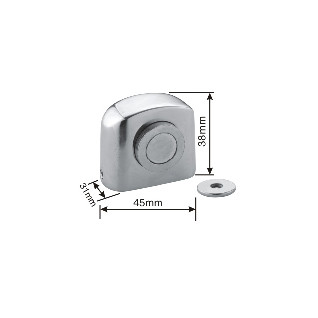 SSS stainless steel New Magnetic door stopper(MDS10-SSS)