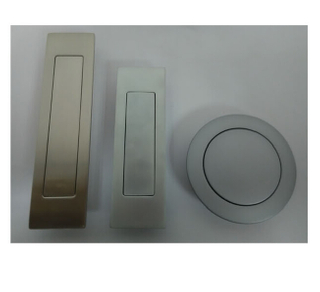 Zinc Alloy Rectangle Concealed Furniture Handle with Spring (UP-4070)
