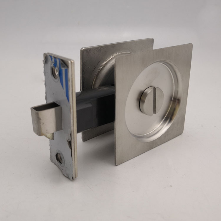 SSS Stainless Steel 304 square Sliding Door Lock