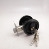 stainless steel 304 black sliding door key lock