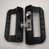 Aluminum alloy frame door push or pull door lock