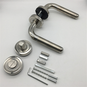 Chrome And Stain Nickel Stainless Steel 304 Internal Bathroom Door Handle Sets