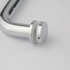Show Room Stainless Steel Shower Door Handles Polished Glass Pull Handles