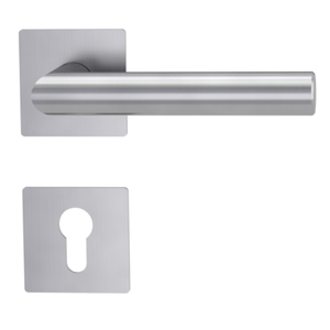 Stainless Steel Fast Rapid Installation Wooden Door Lever Magnetic Handle