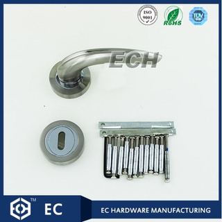 Lavatory Solid Zinc Alloy Door Handle (52113)