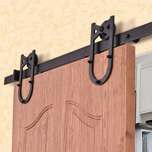 Stable Smoothly And Quietly Standard 6ft 6.6ft Sliding Barn Door Hardware