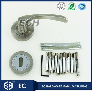 Sn Finish Main Door Zinc Alloy Handle (52106)