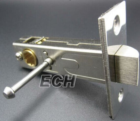 Stainless Steel Handle Push Button Privacy Door Handle Lock