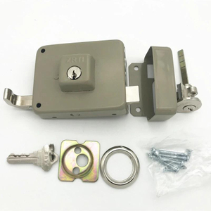 Door Locks Hardware South American Security Anti-Thief Night Latch Door Rim Lock