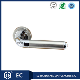 Joint Zinc Alloy and Stainless Steel Door Handle (C031)