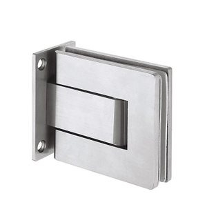 Square 90 Degrees One Side 304 Stainless Steel Hydraulic Door Hinge