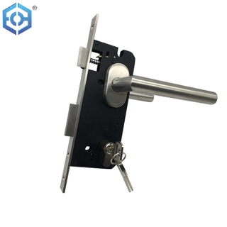 Stainless Steel High Security Best Front Gatehouse Patio Door Locks with Lock Cylinder for Home Safety