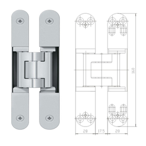 concealed 3d door hinge adjustment stainless steel door hinges