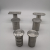 Stainless Steel Door Bolt Accessory Dust Proof Strike