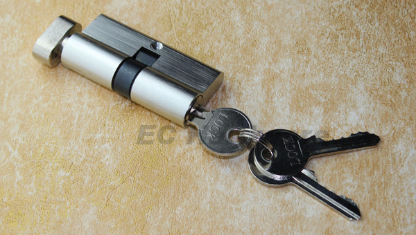Standartand European Security Brass Door Locks Key Cylinder Various Types Colors with Thumb Turn Knob Pin Lock Set