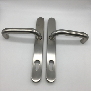 Stainless Steel 304 Tubular Narrow Panel Door Handle for Aluminum Frame Door