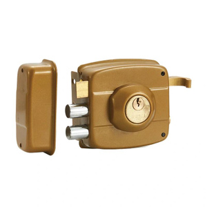 Hot Selling Wooden Door Brass Lock Home Rim Lock
