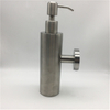 Square/Round Shape Matt Black Wall Mounted And Table Holding SS304 Stainless Steel Hand Liquid Soap Dispensers