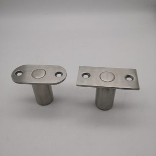 Stainless Steel Dust Proof Strike with Square or Oval Plate