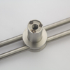 New Stainless Steel Solid Tube Double Couple Pull Handle for Glass Door