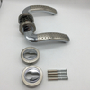 Germany Style Zinc Alloy BB PZ WC Stain Chrome outside Entrance Door Handles