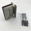 PSS And SSS Stainless Steel 90 Degree Glass To Wall Glass Clamps Door Hinges