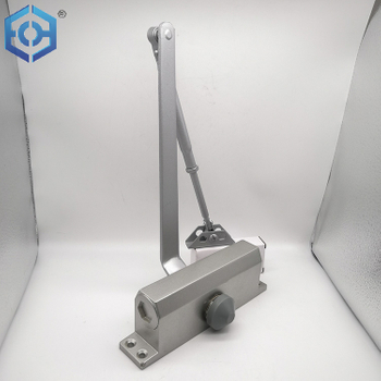 Door Accessories China Manufacturer Spray Painting Adjustable Silver Hydraulic Heavy Duty Door Closer