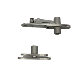 Solid Stainless Steel Invisidoor Hinge Kit Center Pivot Hinge for Heavy Doors