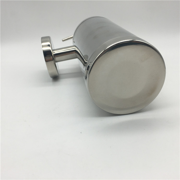 chrome Stainless Steel Liquid Soap Dispenser / Hand Sanitizer Soap Dispenser / Shower gel bottle