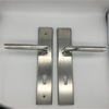 Stainless Steel Security Lockset with Euro Profile Cylinder And Key Mortise Lock Handle Set