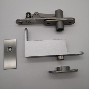 SUS 304 Stainless steel and zinc alloy pivot lever door hinge