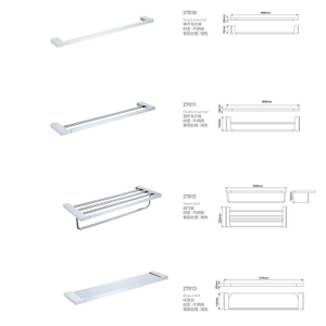 Manufacturers Direct Export Fashion Style Stainless Steel 304 Towel Rack