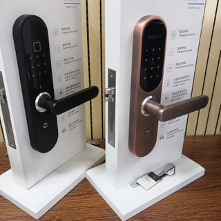 Card And Key Smart Home Security Digital Intelligent Password Electronic Fingerprint Door Lock