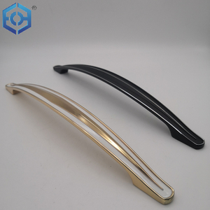 Black Or Golden Zinc Alloy Furniture Handle