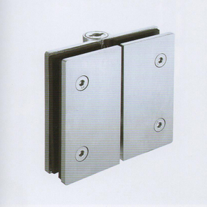 Hydraulic Stainless Steel 180 Degrees Glass To Glass Soft Close Glass Door Hinge