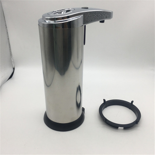 New Version Update Button Automatic Soap Dispenser Stainless Steel Touchless Hand Free Motion Sensor Automatic Soap Dispenser