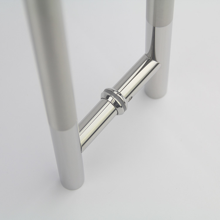 Stainless Steel Shower Room Push And Pull Glass Door Handle