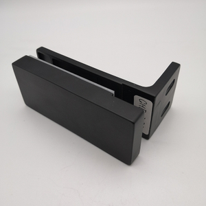 Durable Quality Matt Black Stainless Steel Shower Glass Door Hinge