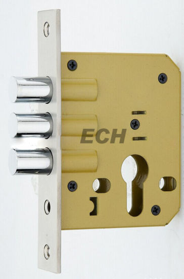 China Manufacturer Three Bar Zinc Alloy Mortise Lock Body (ESD-013)