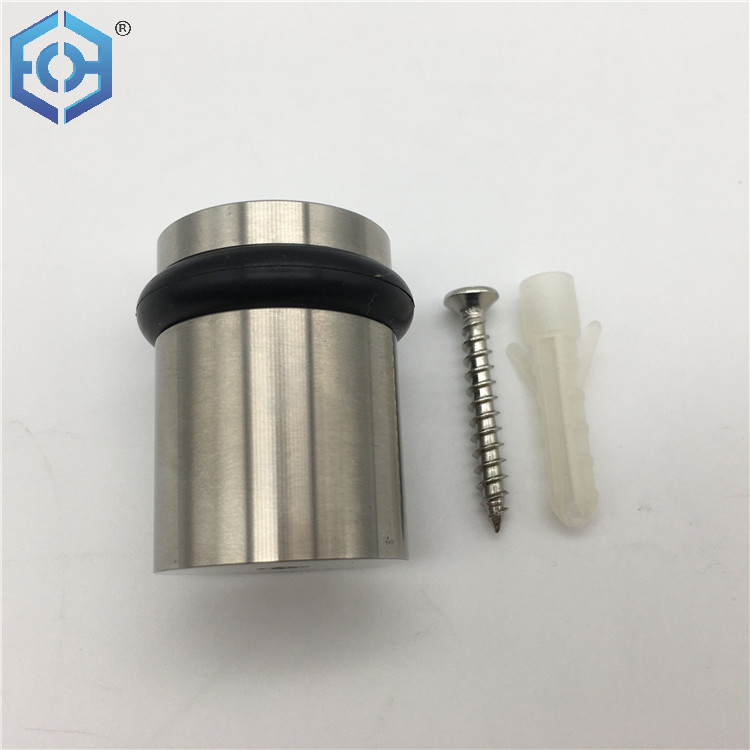 Zinc Alloy/ Stainless Steel Door Hardware Rubber Accessories Holder Door Stopper