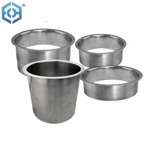 Round Stainless Steel In-Counter Trash Cover