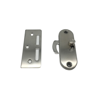 Stainless Steel Sliding Privacy Barn Door Latch Open Lock From Both Sides