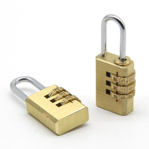 Brass Zinc Alloy Combination Padlock Travel Padlock Password Padlock Digital Padlock