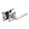Zinc Alloy Interior Door Lock Living Room Bedroom Bathroom Door Handle Lock Lever Door Handle Lock