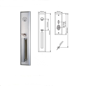 Security Home Main Entrance Gate Door Key Lock Price All Types Good Price Zinc Alloy Panel Lock Manufacturer