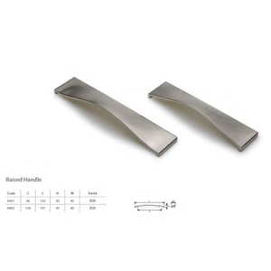 Zinc Alloy Kitchen Cabinet Hardware Brushed Nickel Cabinet Pulls