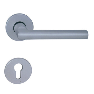 silver aluminum do not disturb door handle template