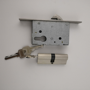 Stainless Steel SSS Exterior Mortise Lock Replacement (MLE015)