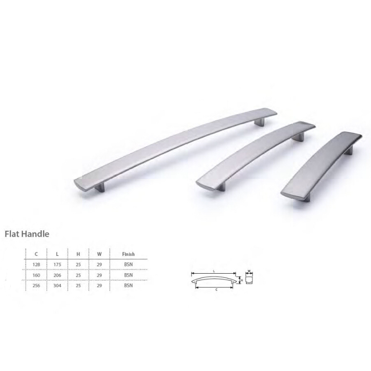 Zinc Alloy cabinet door hardware modular furniture handle