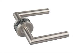Double Sided Tube Lever Modern Stainless Steel SUS304 Door Handle